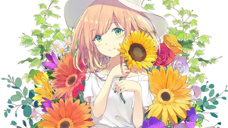 Anime Flowers: A Showcase of Artistic Beauty